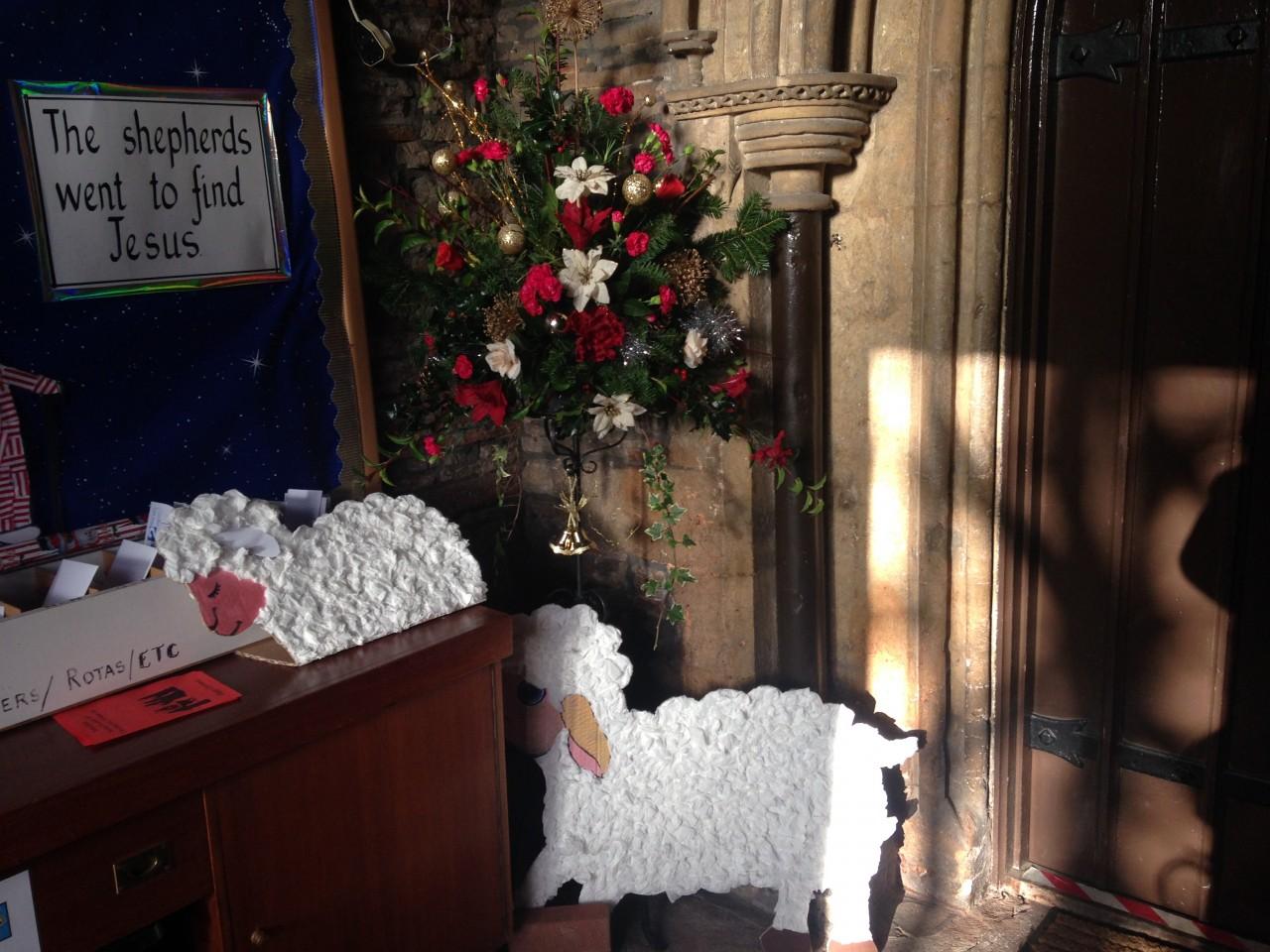 Messy Church Lambs