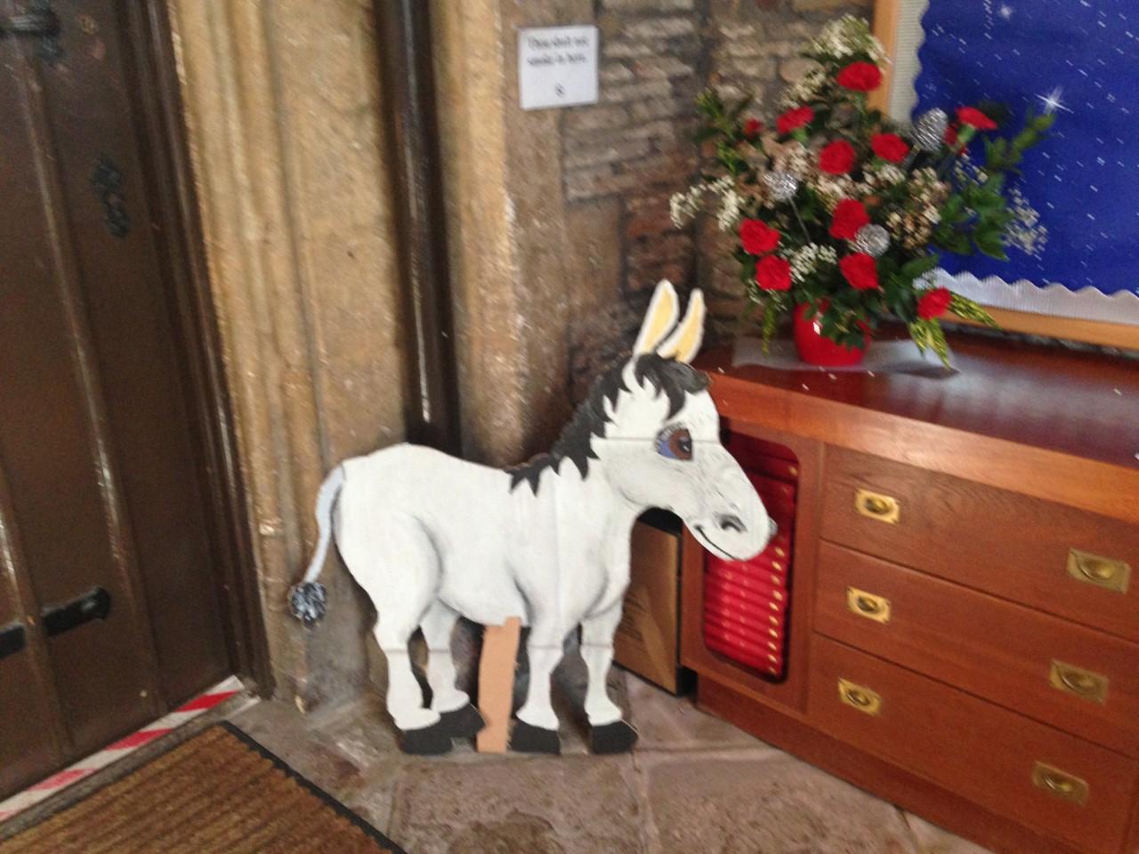 Messy Church Donkey