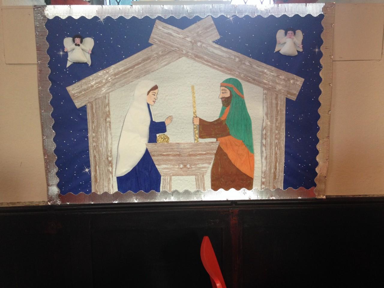 Messy Church Christmas Art